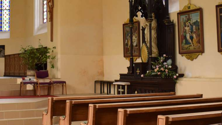 2:30 pm – 3:45 am prayers in the chapel of our Apostolate